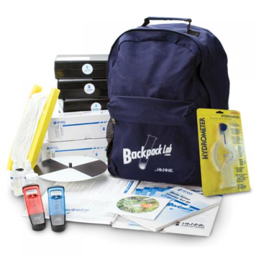 Kit Educativo de Pruebas de Ciencias Marinas Backpack Lab